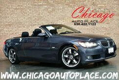 2008_BMW_3 Series Convertible/Hardtop_335i - 3.0L TWIN TURBO I6 ENGINE REAR WHEEL DRIVE PREMIUM PACKAGE SPORT PACKAGE NAVIGATION PARKING SENSORS BLACK LEATHER HEATED SEATS XENONS KEYLESS GO PREMIUM WHEELS_ Bensenville IL