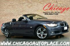 2008_BMW_328i_CONVERTIBLE/HARDTOP - 1 OWNER 3.0L I6 ENGINE REAR WHEEL DRIVE BLACK LEATHER HEATED SEATS XENONS WOOD GRAIN INTERIOR TRIM PREMIUM WHEELS_ Bensenville IL