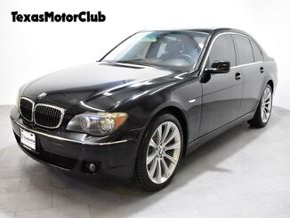 2008_BMW_7 Series_4dr Sdn 750i_ Arlington TX
