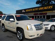 2008_CADILLAC_ESCALADE_PLATINUM, CERTIFIED W/ WARRANTY, LEATHER, DVD, NAVIGATION, POWER RUNNING BOARDS, TOP OF THE LINE!!_ Norfolk VA