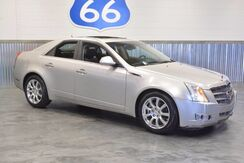 2008_Cadillac_CTS_'LEATHER! SUNROOF! NAVIGATION!' CHROME WHEELS! ONLY 60K MILES!_ Norman OK