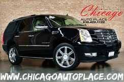 2008_Cadillac_Escalade_AWD - 6.2L VORTEC VVT V8 SFI ENGINE ALL WHEEL DRIVE NAVIGATION BEIGE LEATHER HEATED/COOLED SEATS PARKING SENSORS 3RD ROW REAR TV'S SUNROOF_ Bensenville IL