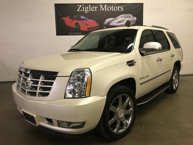 2008 Cadillac Escalade Luxury Nav Rear Camera, DVD HTD seats Addison TX