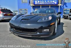 2008_Chevrolet_Corvette_Z06 / 7.0L LS7 V8 / 505HP / 6-Spd Manual / Lowered / Billy Boat Fusion Bimode Exhaust / KOOKS Long Tube Headers / LG Motorsports Exhaust Switch / K&N Air Intake / Power & Heated Leather Seats / Heads Up Display / Bose Speakers / Only 37K Miles_ Anchorage AK