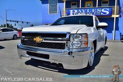 2008_Chevrolet_Silverado 1500_LT / 5.3L Vortec V8 / Accuair E Level Air Suspension / Custom Suede & Leather Interior / HD Front End / Custom Bed / Power Driver's Seat / Seats 3 / Auto Start / Aux Input / Bed Liner_ Anchorage AK