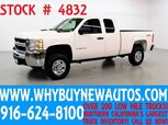 2008 Chevrolet Silverado 2500HD ~ 4x4 ~ Extended Cab ~ Only 62K Miles!
