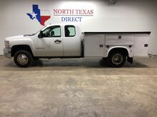 2008_Chevrolet_Silverado 3500HD_Dually 6.6L Turbo Diesel 4WD Utility Bed Tow Package_ Mansfield TX