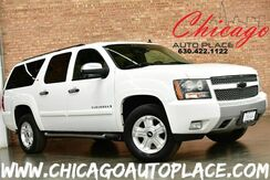 2008_Chevrolet_Suburban_LS Z71 - 5.3L VORTEC V8 SFI FLEX-FUEL ENGINE 2-TONE BLACK/BEIGE LEATHER INTERIOR FRONT + REAR HEATED SEATS NAVIGATION BACKUP CAMERA 3RD ROW SEATS REAR TV/DVD POWER LIFTGATE_ Bensenville IL