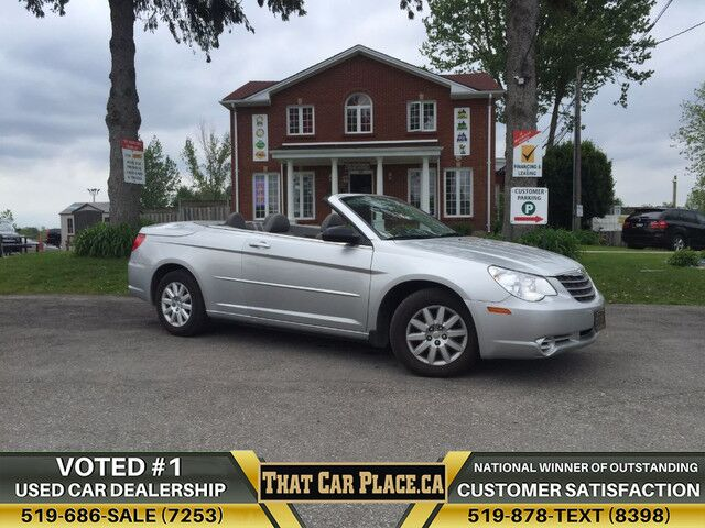 chrysler convertible low on for kms sale used norwood sebring htm