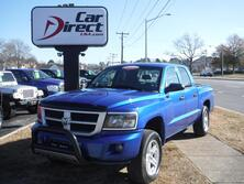 DODGE DAKOTA SXT CREW CAB BIGHORN EDITION, CARFAX CERTIFIED, PUSH BAR, UCONNECT, TOW PACKAGE, BED LINER, NICE!!! 2008
