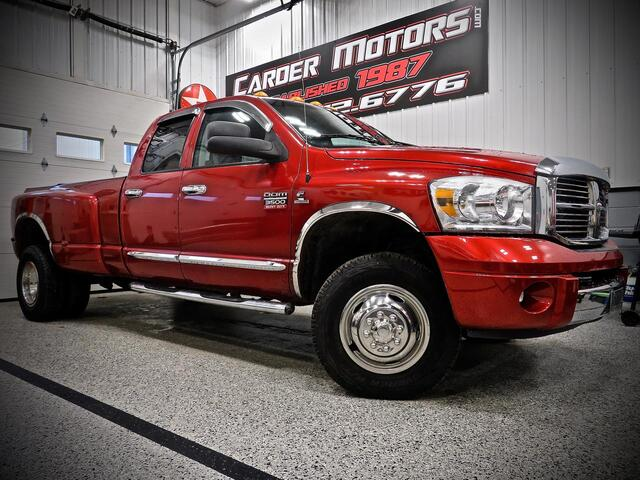 2008_DODGE_RAM 3500 QUAD CAB LARAMIE DUALLY 4X4__ Bridgeport WV