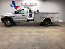2008_Dodge_Ram 4500_4500 Utility Bed Air Compressor 6 Boxes Exhaust Brake_ Mansfield TX