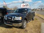 2008 FORD F-150 XLT 4X4, BUY BACK GUARANTEE AND WARRANTY, CD PLAYER, BED LINER, TOW PKG, ONLY 92K MILES!