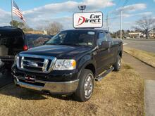 2008_FORD_F-150_XLT 4X4, BUY BACK GUARANTEE AND WARRANTY, CD PLAYER, BED LINER, TOW PKG, ONLY 92K MILES!_ Virginia Beach VA