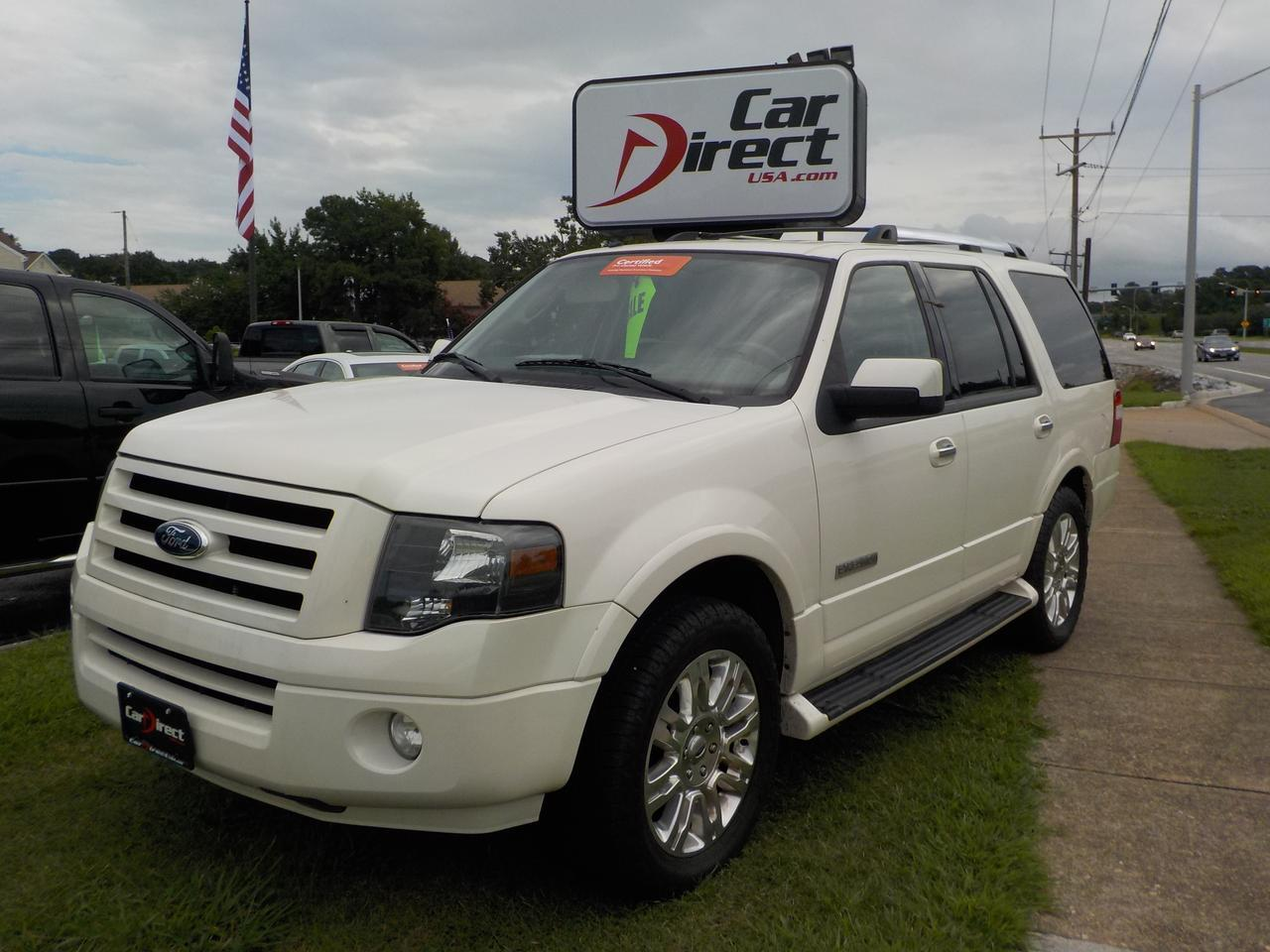 Ford Expedition Limited Certified Pre Owned Navigation Leather Rd Row Power Seat Tow Package Virginia Beach Va