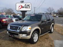 2008_FORD_EXPLORER_EDDIE BAUER, 4X4, CARFAX CERTIFIED, SYNC, LEATHER, THIRD ROW, TOW PKG, ONLY 86K MILES, VERY CLEAN!!!_ Virginia Beach VA