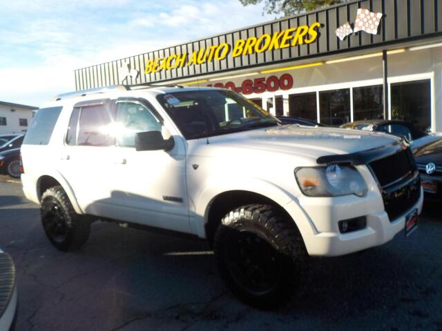 2008 FORD EXPLORER LIMITED, BUYBACK GUARANTEE, WARRANTY, LEATHER, SUNROOF, PARKING SENSORS, 3RD ROW, HEATED SEATS,NICE! Norfolk VA