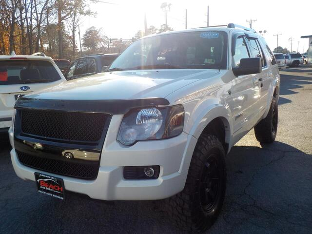2008 FORD EXPLORER LIMITED, WARRANTY, LEATHER, SUNROOF, 3RD ROW, PARKING SENSORS, HEATED SEATS, ROOF RACKS, TOW PKG! Norfolk VA