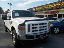 2008_FORD_F-250_XLT SUPERCAB 6.4L POWERSTROKE DIESEL 4X4,BUYBACK GUARANTEE,WARRANTY, 1 OWNER, BED LINER, LEATHER!_ Norfolk VA