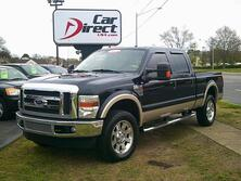 FORD F-350 CREW CAB LARIAT 4X4 OFF ROAD, AUTOCHECK CERTIFIED, NAVI, TOW PKG, LIFTGATE ASSIST, LOADED, RARE!!!! 2008