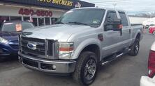 FORD SUPER DUTY F-350 LARIAT CREW CAB TURBO DIESEL 4X4, AUTOCHECK CERTIFIED, SUNROOF, TOW PKG, BEDLINER, LOW MILES 2008