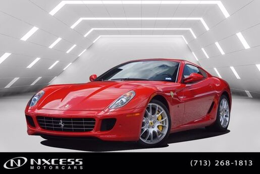 2008 Ferrari 599 GTB Fiorano Only 3K Miles Annual Service Been Done MSRP $360,909! Houston TX