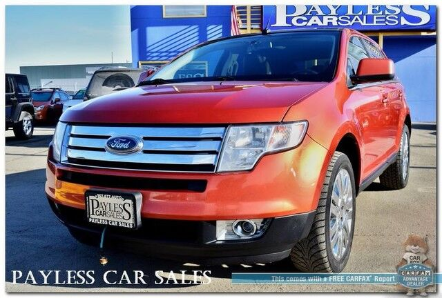 Ford Edge Limited Awd  L V Heated Leather Seats Panoramic