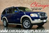 2008 Ford Explorer Eddie Bauer - 4.0L V6 ENGINE 4 WHEEL DRIVE TAN LEATHER HEATED SEATS SUNROOF 3RD ROW CHROME WHEELS