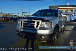 2008_Ford_F-150_FX4 / Off Road Pkg / 4X4 / 5.4L V8 / Crew Cab / Auto Start / Power & Heated Leather Seats / Back Up Camera / Running Boards / Power Adjustable Pedals / Block Heater / Tow Pkg_ Anchorage AK