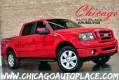 2008 Ford F-150 FX4 SUPERCREW - 5.4L FFV V8 ENGINE 4 WHEEL DRIVE BLACK LEATHER HEATED SEATS SUNROOF PREMIUM ALLOYS