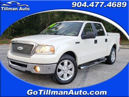 2008_Ford_F-150_Lariat SuperCrew Short Box 2WD_ Jacksonville FL