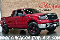 2008_Ford_F-150_SUPERCAB XLT - 5.4L EFI FFV V8 ENGINE 4 WHEEL DRIVE CUSTOM WHEELS PERFORMANCE EXHAUST OFF ROAD TIRES CHROME SIDE STEPS BODY COLOR BED COVER_ Bensenville IL