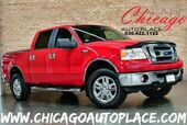 2008 Ford F-150 XLT SUPERCREW - 5.4L FFV V8 ENGINE 4 WHEEL DRIVE FLINT GRAY CLOTH PARKING SENSORS CHROME BUMPERS AUX INPUT