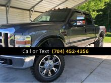 2008_Ford_F-350 SD_Lariat Crew Cab 4WD_ Charlotte and Monroe NC