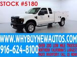 2008 Ford F350 ~ 4x4 ~ Diesel ~ Extended Cab ~ Utility ~ Only 60K Miles!