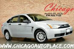 2008_Ford_Focus_SE - 2.0L I4 DURATEC ENGINE FRONT WHEEL DRIVE BLACK/GRAY CLOTH INTERIOR AUX INPUT PREMIUM ALLOY WHEELS_ Bensenville IL
