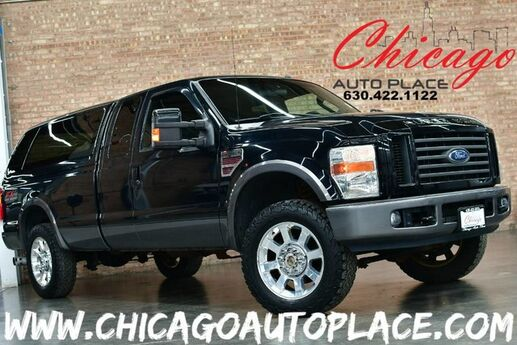 2008 Ford Super Duty F-250 SRW FX4 - 6.4L V8 TURBO-DIESEL POWER STROKE ENGINE 4 WHEEL DRIVE BLACK LEATHER HEATED SEATS Bensenville IL