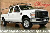 2008 Ford Super Duty F-250 SRW XL - 6.4L V8 TURBO-DIESEL POWER STROKE ENGINE 1 OWNER 4 WHEEL DRIVE GRAY LEATHER INTERIOR PREMIUM ALLOY WHEELS