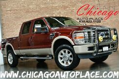2008_Ford_Super Duty F-350 SRW_King Ranch - 6.8L SMFI TRITON V10 4 WHEEL DRIVE COGNAC BROWN KING RANCH LEATHER HEATED SEATS SUNROOF WOOD GRAIN INTERIOR TRIM_ Bensenville IL