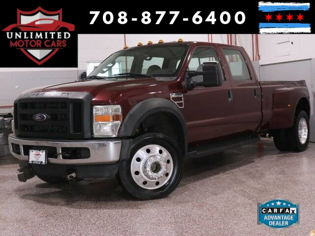 2008 Ford Super Duty F-450 DRW XLT Bridgeview IL