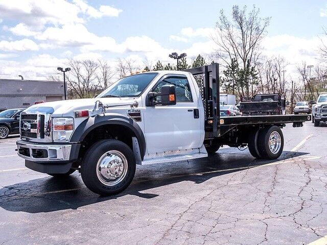 2008_Ford_Super Duty F-450 DRW XLT_Flatbed_ Chicago IL