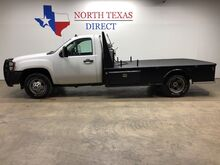 2008_GMC_Sierra 3500HD_DRW SLE 4x4 Diesel Skirted Flat Bed Gps Navigation Fuel Tank_ Mansfield TX
