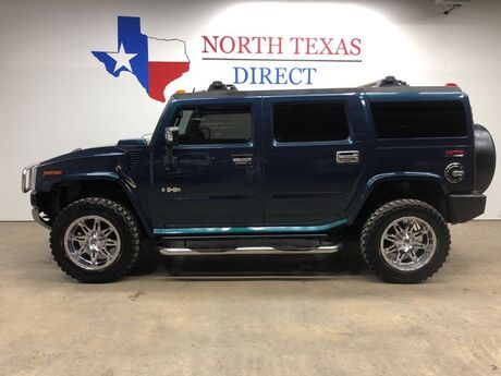 2008 HUMMER H2 H2 Ultimate Luxury Pkg Chrome Camera 3rd Row Roof Tv Mansfield TX