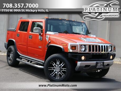 2008 HUMMER H2 SUT 1 Owner Nav Roof Rear Entertainment Loaded Hickory Hills IL