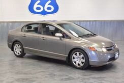 2008_Honda_Civic Sdn_LOADED LX 38 MPG ON HWY 30 IN TOWN! 5 SPEED! MINT!_ Norman OK