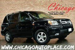 2008_Honda_Pilot_EX-L - 3.5L VTEC V6 ENGINE 4 WHEEL DRIVE GRAY LEATHER HEATED SEATS SUNROOF REAR ENTERTAINMENT 3RD ROW SEATING ALLOY WHEELS_ Bensenville IL