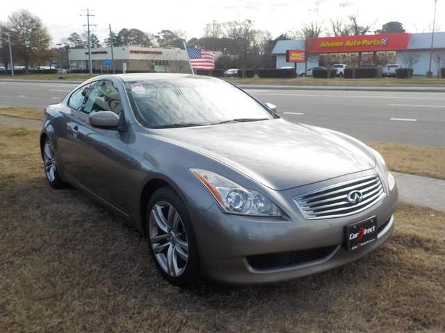 2008 INFINITI G37 COUPE, BUY BACK GUARANTEE AND WARRANTY, MULTI CD PLAYER, SUNROOF, LEATHER, ONLY 110K MILES! Virginia Beach VA
