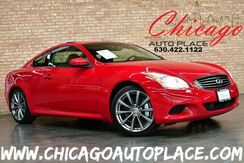 2008_INFINITI_G37 Coupe_Sport - 3.7L V6 ENGINE REAR WHEEL DRIVE NAVIGATION BACKUP CAMERA BLACK LEATHER HEATED SEATS BOSE AUDIO SUNROOF XENONS_ Bensenville IL