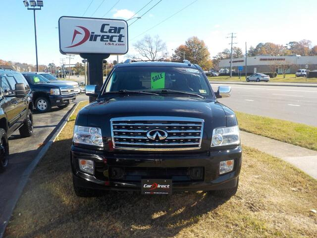 2008 INFINITI QX56 4X4, BUY BACK GUARANTEE AND WARRANTY,  BOSE SOUND, NAVI, DVD, BLUETOOTH, ONLY 121K MILES! Virginia Beach VA