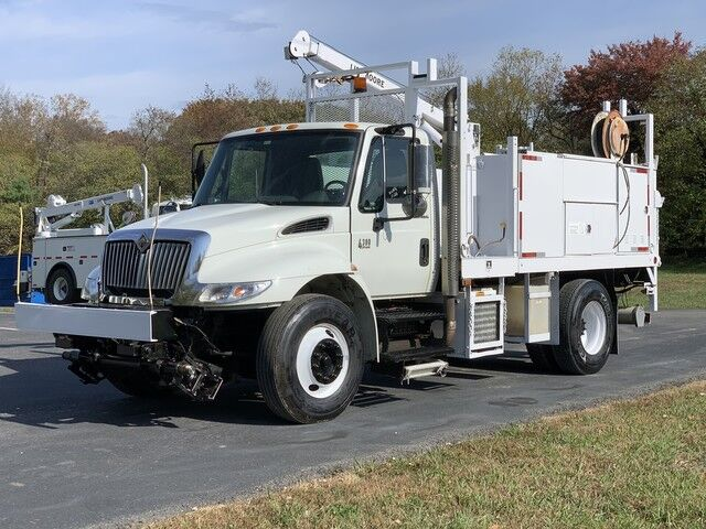2008 International 4300 Liftmoore Crane & Service Truck  Crozier VA